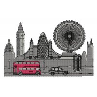 Дизайн машинной вышивки Лондон скачать