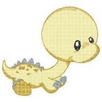 Жёлтый динозаврик
