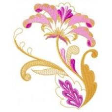 Дизайн машинной вышивки Цветение скачать