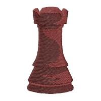 Дизайн машинной вышивки Шахматы Ладья скачать