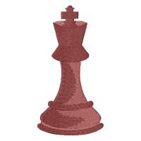 Дизайн машинной вышивки Шахматы Король скачать