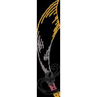 Дизайн машинной вышивки Пиратский меч скачать