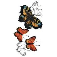 Дизайн машинной вышивки Полёт бабочек скачать