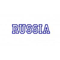 Дизайн машинной вышивки RUSSIA скачать