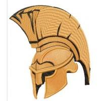 Дизайн машинной вышивки Шлем гладиатора скачать