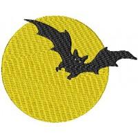 Дизайн машинной вышивки Полная луна скачать