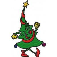 Танец новогодней ёлки