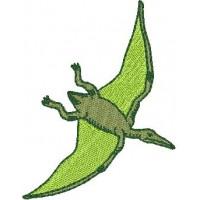 Дизайн машинной вышивки Динозавр Птерозавр скачать