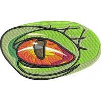 Дизайн машинной вышивки Глаз дракона скачать