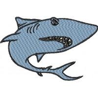 Дизайн машинной вышивки Акула 1 скачать