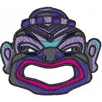 Дизайн машинной вышивки Восточная маска 2 скачать