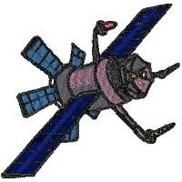 Дизайн машинной вышивки Космический корабль скачать