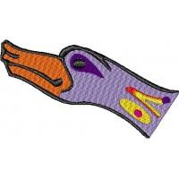 Дизайн машинной вышивки Кельтская птица 1 скачать