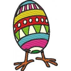 Дизайн машинной вышивки Пасхальное яйцо скачать
