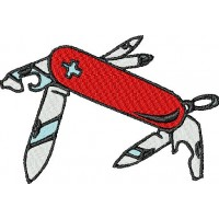 Дизайн машинной вышивки Швейцарский нож скачать