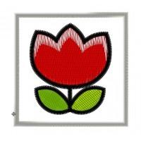 Дизайн машинной вышивки Цветочек скачать