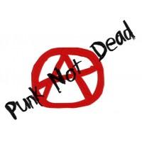Дизайн машинной вышивки Анархия и Punk not dead скачать