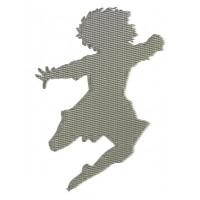 Дизайн машинной вышивки Танцующий джигит скачать