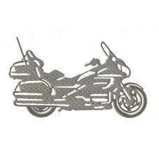 Дизайн машинной вышивки Мотоцикл 01 скачать