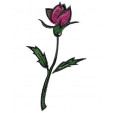 Дизайн машинной вышивки Простая роза скачать