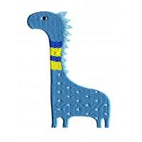 Дизайн машинной вышивки Динозаврик Дима скачать
