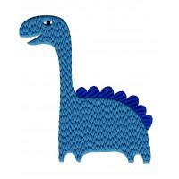 Дизайн машинной вышивки Динозаврик Макс скачать
