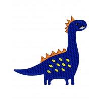 Дизайн машинной вышивки Динозаврик Веня скачать