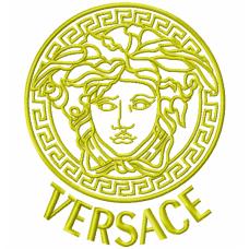 Дизайн машинной вышивки Эмблема Versace скачать