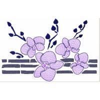 Дизайн машинной вышивки Орхидеи и бамбук скачать