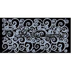 Дизайн машинной вышивки Узор С Новым годом! скачать