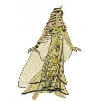 Дизайн машинной вышивки Клеопатра скачать