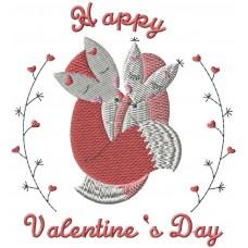Дизайн машинной вышивки С Днем Св Валентина! скачать