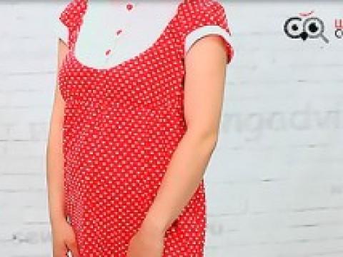 Видеокурс Видеокурс по шитью: Пошив платья для беременных скачать