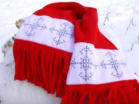 Видеокурс Видеокурс по шитью: Пошив шарфа из флиса скачать