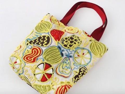 Видеокурс Видеокурс по шитью: Пошив сумки с декором из шнура скачать