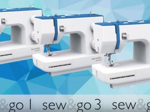 Видео инструкция Bernette Sew&go 1, 3 и 5