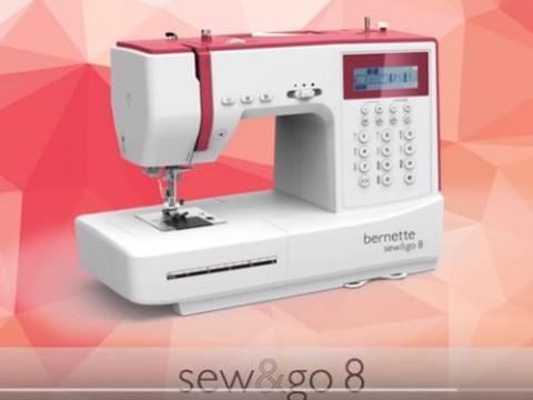 Видео инструкция Bernette Sew&go 8