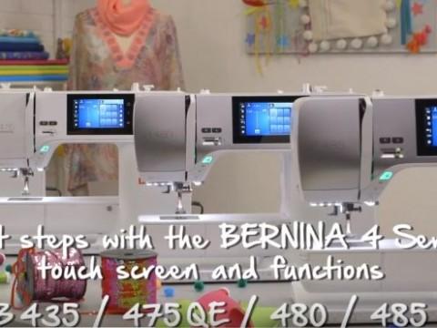 Видео инструкция Bernina B435, B475 QE, B480 и B485