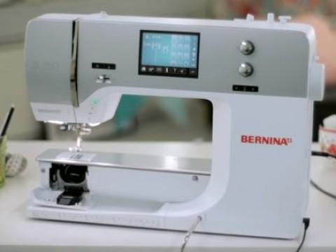 Видео инструкция Bernina B710 и B750 QE