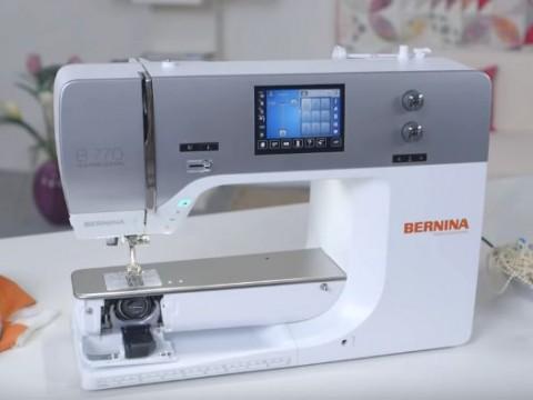 Видео инструкция Bernina B720, B740 и B770 QE