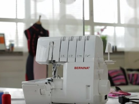 Видео инструкция Bernina L450 и L460