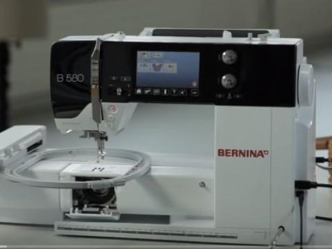 Видео инструкция Bernina B580, B560 и B570 QE