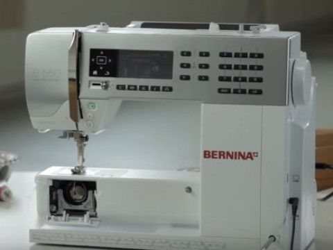 Видео инструкция Bernina B530 и B550QE