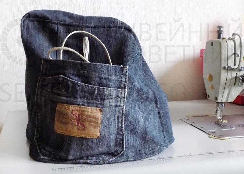 Пошив сумок выкройки с джинсами