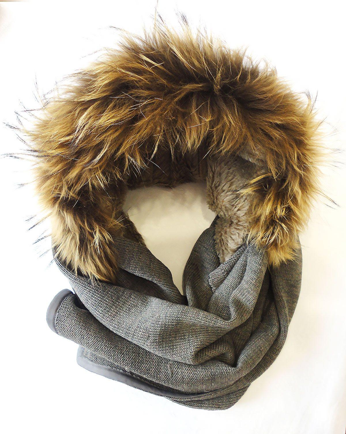 Готовый Капюшон-шарф