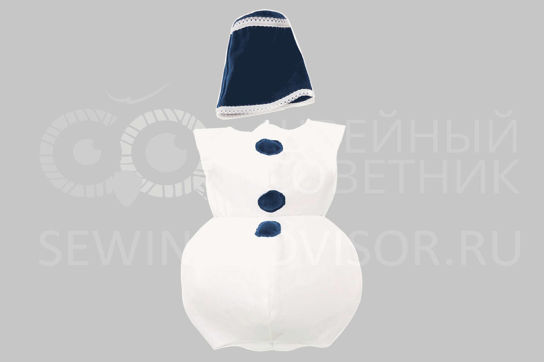 Как сшить костюм с снеговиками фото 652