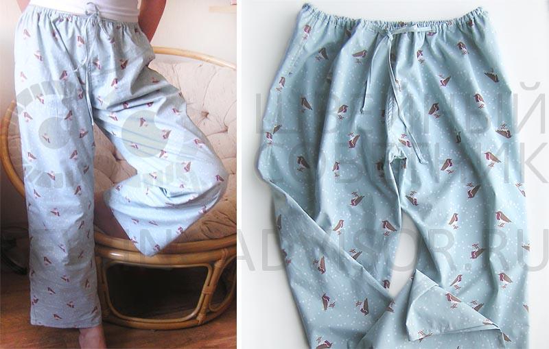269502471d8a7 Женские пижамные брюки, мастер-класс | Швейный Советник