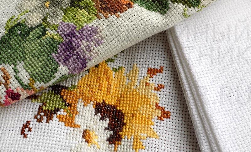 Виды канвы для вышивок 470
