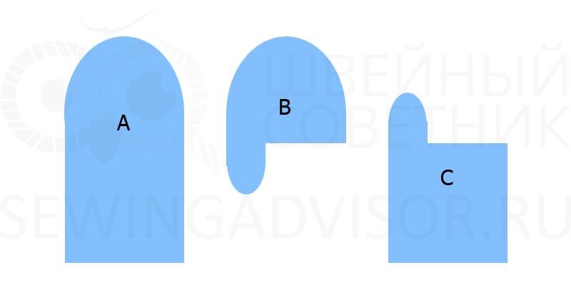 Схема деталей