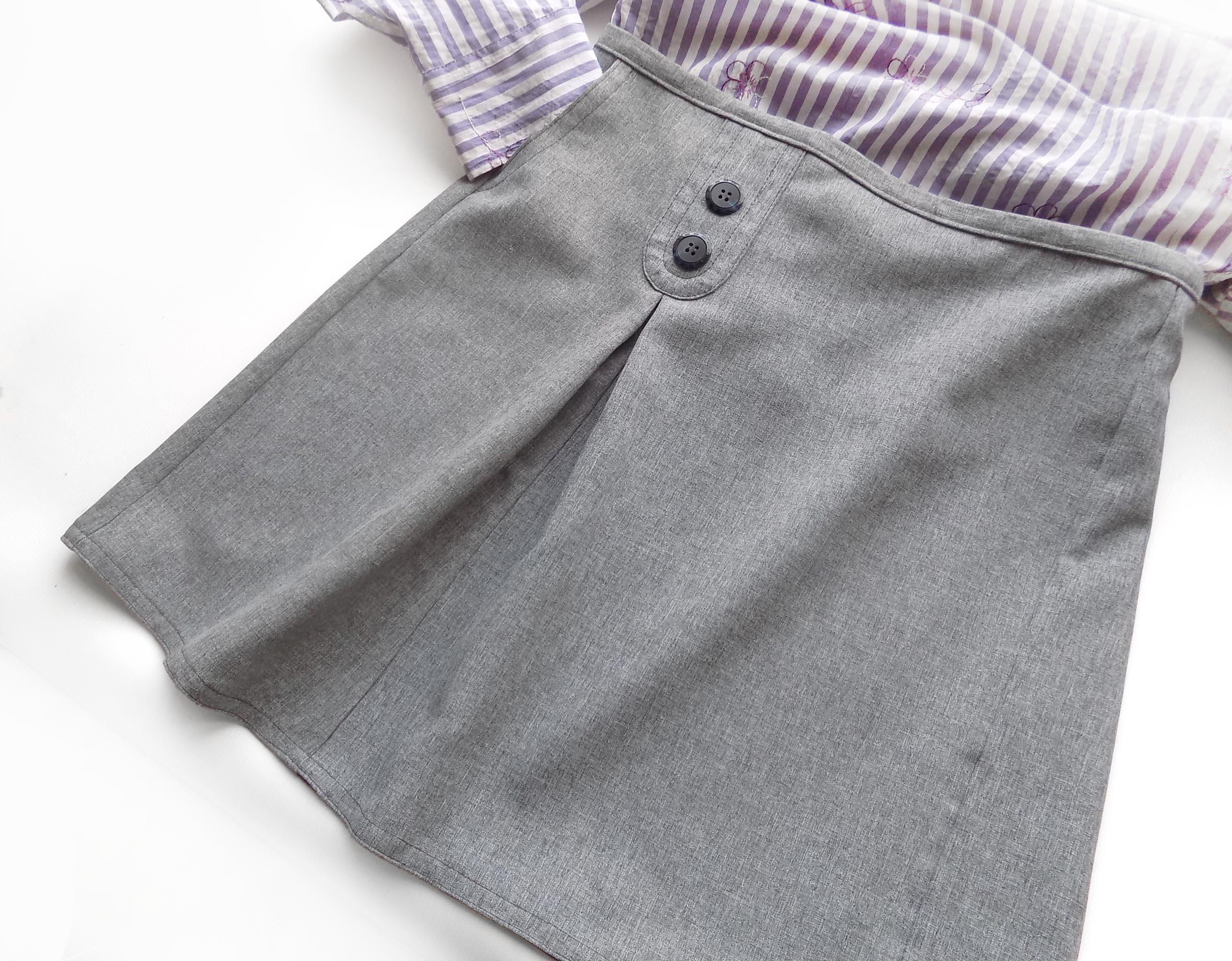 Выкройка юбка с пуговицами фото 385